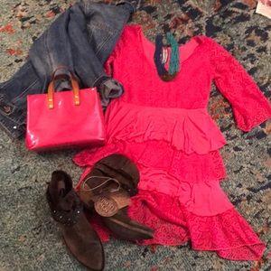 Hot Pink Sz Small Dress